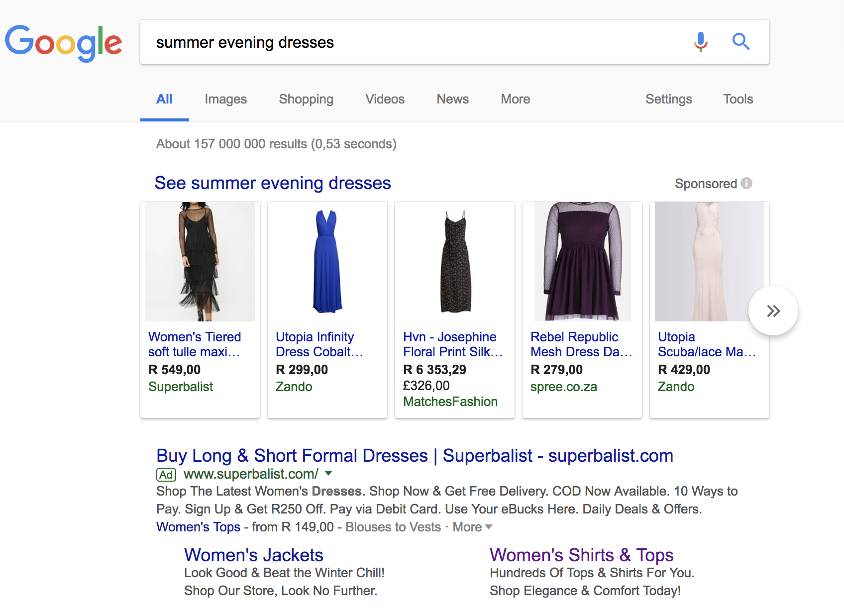 an image of google shopping ads